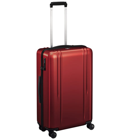 "ZRL Polycarbonate | 26"" Lightweight Spinner Travel Case RED"