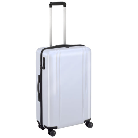 "ZRL Polycarbonate | 26"" Lightweight Spinner Travel Case WHITE"