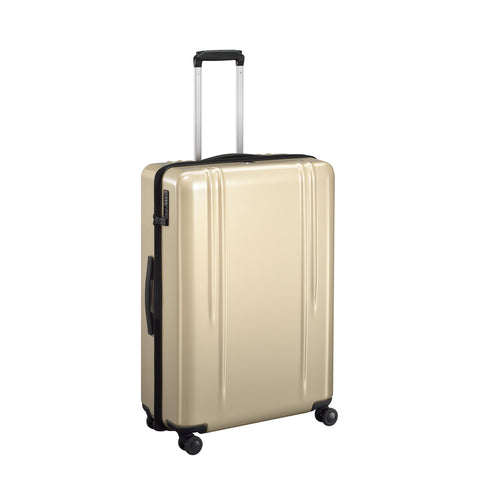 "ZRL Polycarbonate | 28"" Lightweight Spinner Travel Case POLISHED GOLD"