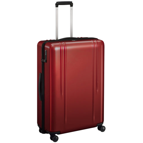 "ZRL Polycarbonate | 28"" Lightweight Spinner Travel Case RED"