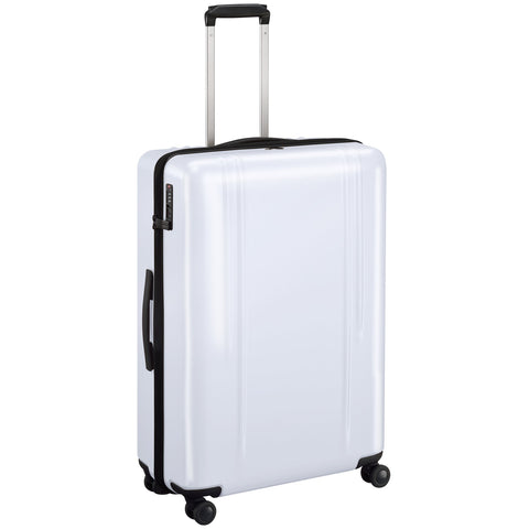 "ZRL Polycarbonate | 28"" Lightweight Spinner Travel Case WHITE"