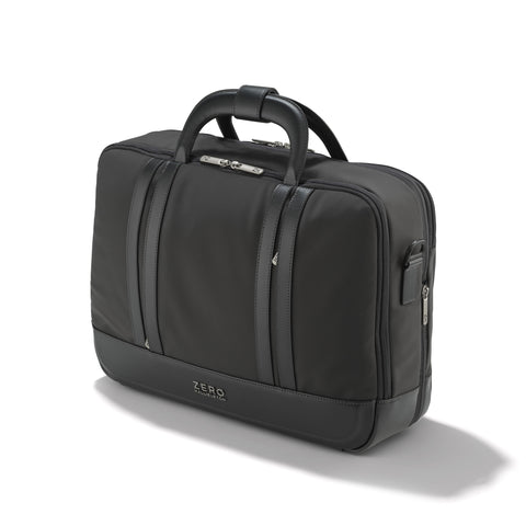 Zero Halliburton Journal Collection | Nylon Three-Way Expandable Briefcase GRAY