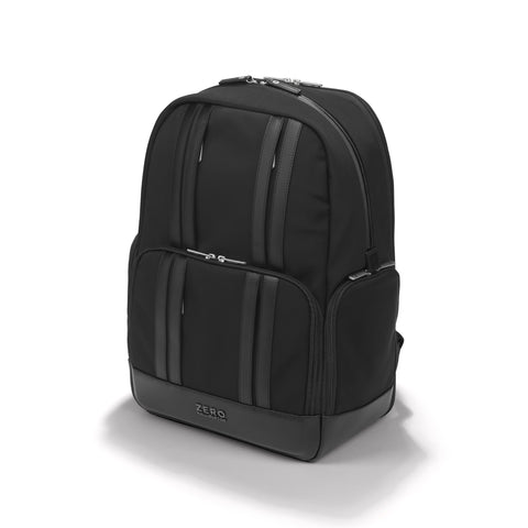 Zero Halliburton Journal Collection | Large Nylon Backpack BLACK