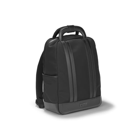 Zero Halliburton Journal Collection | Medium Nylon Backpack BLACK