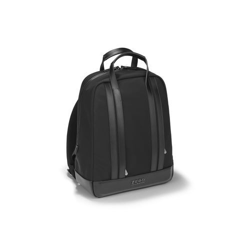 Zero Halliburton Journal Collection | Small Nylon Backpack BLACK