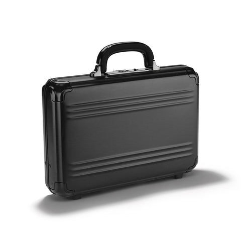 Pursuit Aluminum | Small Attaché Case BLACK