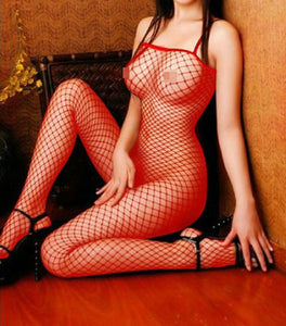 1215  Fishnet Bodystocking