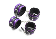 10pc Bondage Set (purple and Black)