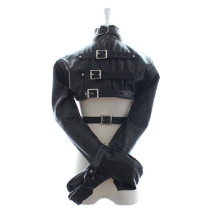 Sexy Bondage BDSM Restraint Jacket With Buckles - For that REAL kinky session