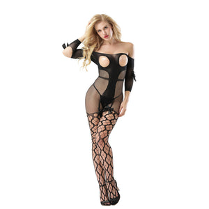 Katie Rabbit 8969 Open Crotch bodystocking