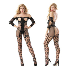 The 8969 Open Crotch bodystocking