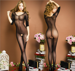The SEE ME Sheer Bodystocking D334