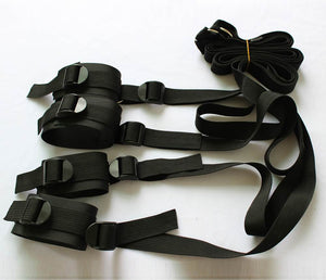 Under Bed Restraint Set - Ankle / Wrist Cuffs
