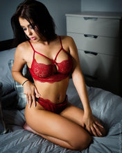 The Lauren 073 Seduce Me Bra and Thong Set