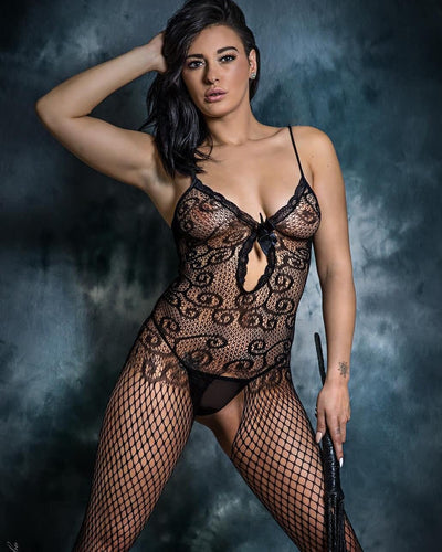 5046 Fishnet Bodystocking