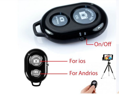 Bluetooth remote Selfie Shutter for iPhone and Android