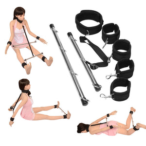Bondage Bar Restraint Set