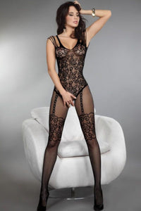 1105 Sexy Crotchless Bodystocking
