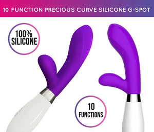 The Hit The Spot Curve Rabbit Vibrator