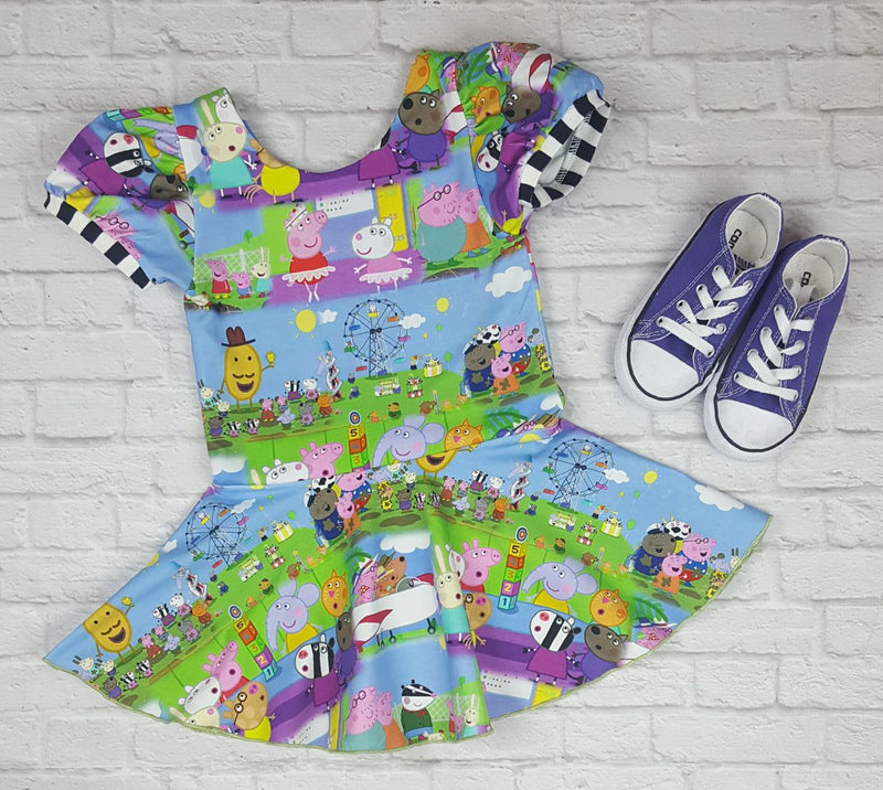 Peppa Pig Puff Sleeve Suzy Tunic
