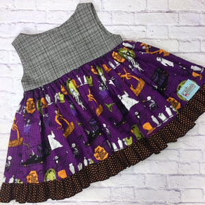 NBC Purple Retro Swing Tunic
