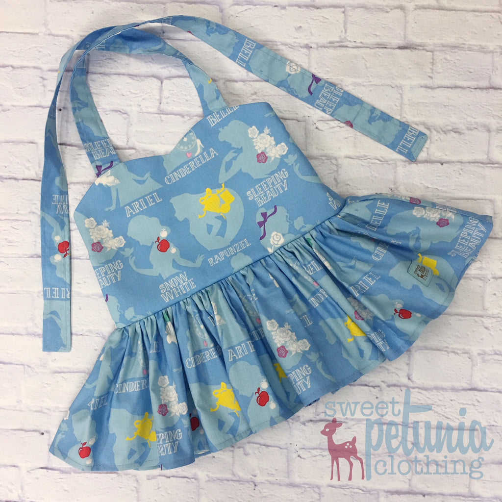 Blue Princess Peplum Tunic