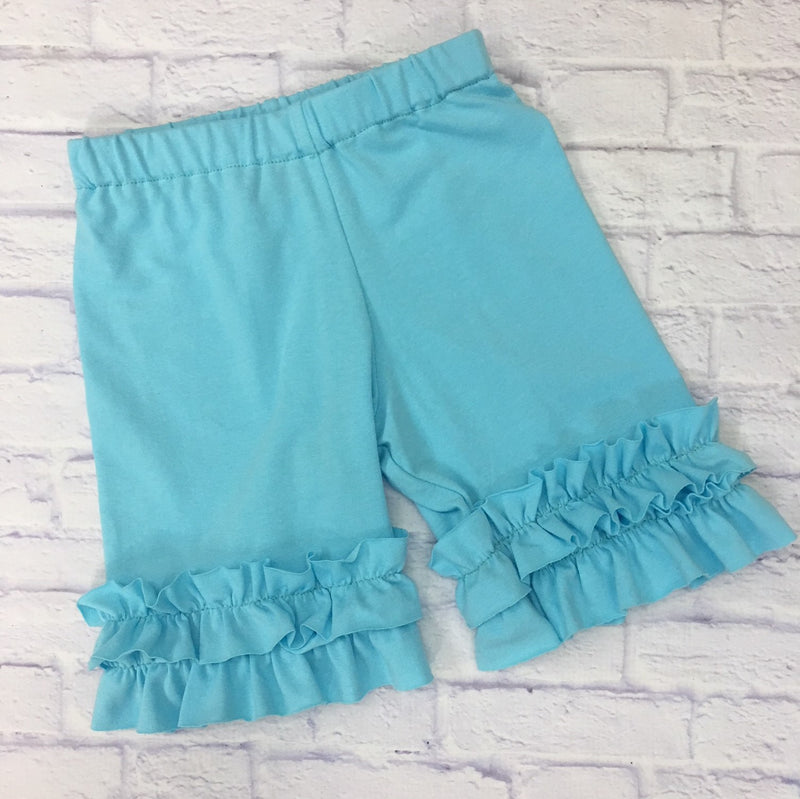 Shorties - Light Turquoise Knit