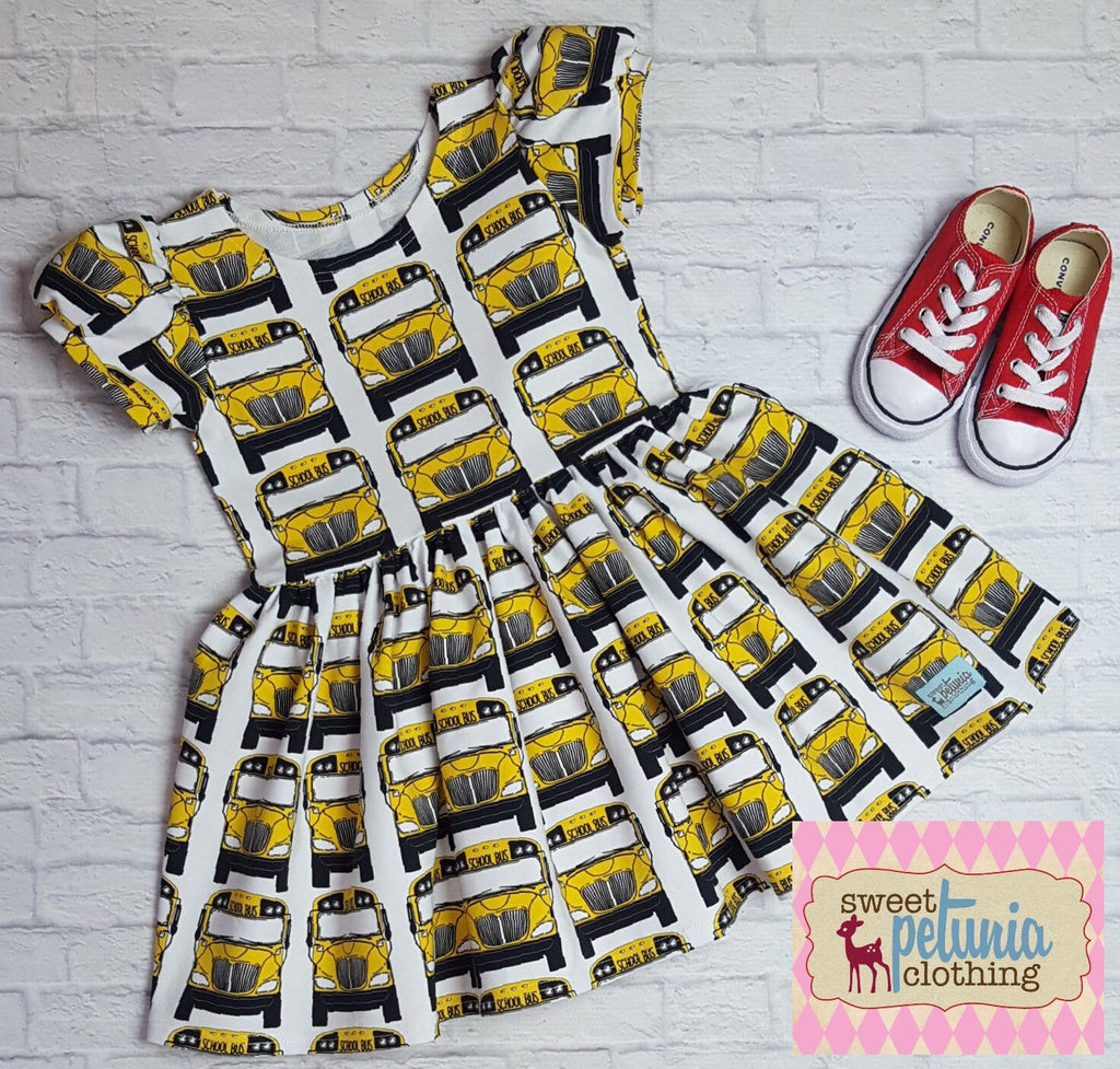 School Bus Quinn Dress