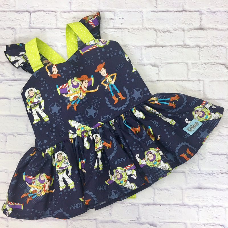 Navy Toy Story Peplum Tunic