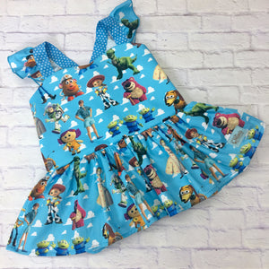 Toy Story Peplum Tunic with Flutter Sleeves