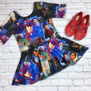 Mary Poppins Suzy Peplum Tunic
