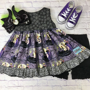 Villains and Spiders Retro Swing Tunic
