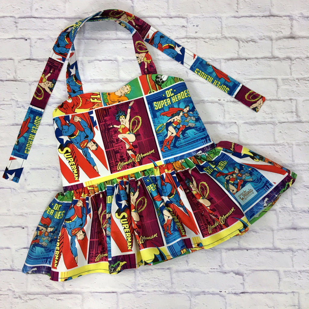 Super Hero Peplum Tunic
