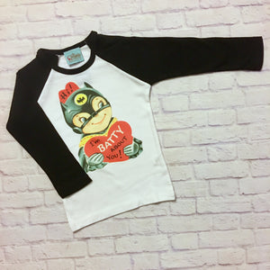 Bat Boy Valentine Tee