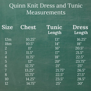 Knit Typewriter Quinn Dress or Tunic