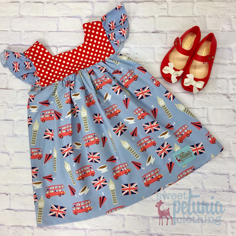 British Invasion Sophie Dress