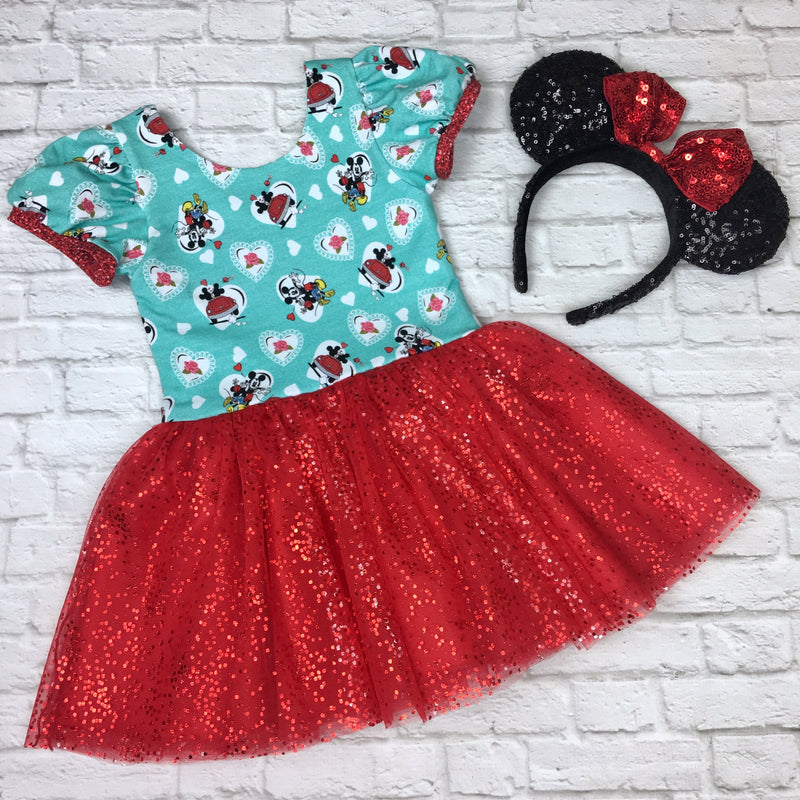 Retro Mickey & Minnie Lucy Dress