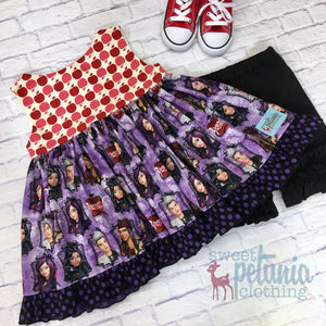 Descendants Apple Retro Swing Tunic