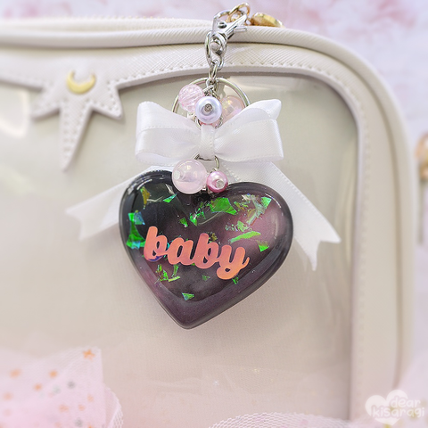 Charm | Baby Heart | Pink