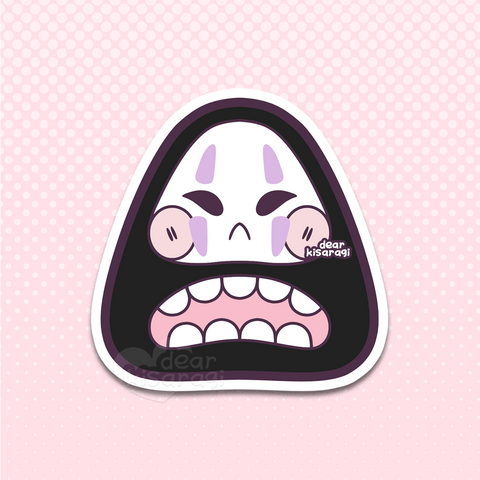 Sticker | No Face