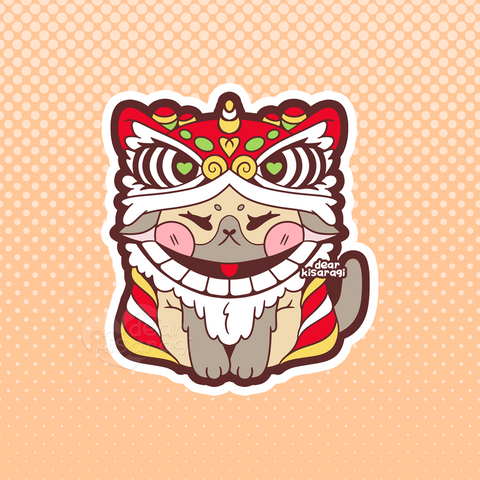 Sticker | Lion Dancer