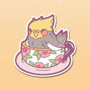 Sticker | Cocka-tea-l