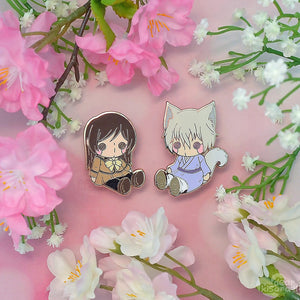 KamiKiss Plush Pins