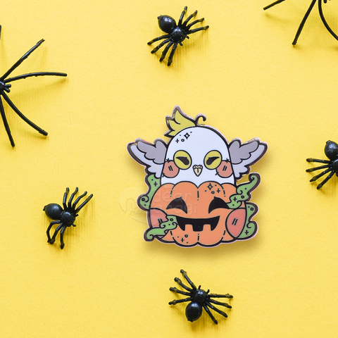 Trick or Tweet (Mini Pin)