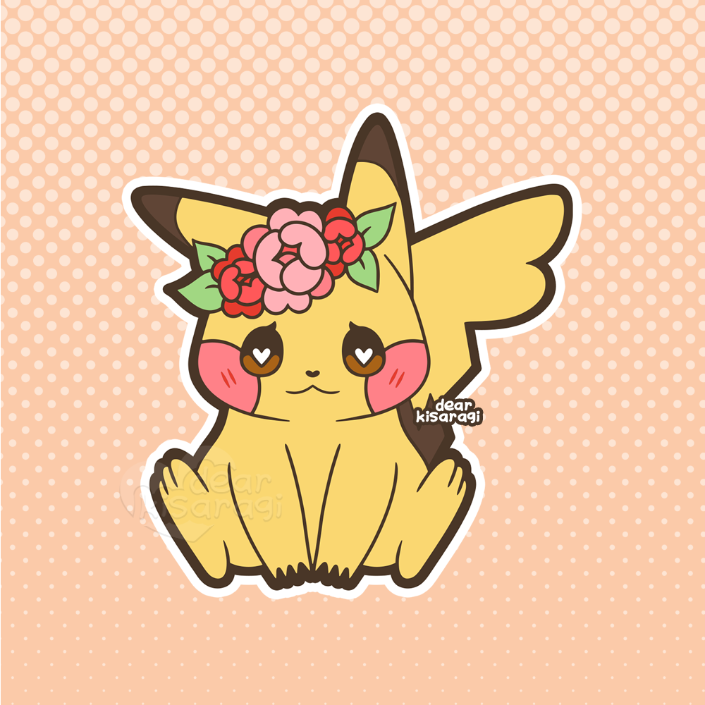 Sticker |  Pikachu