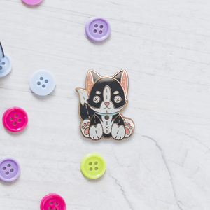 Plush Husky - Charity Pin