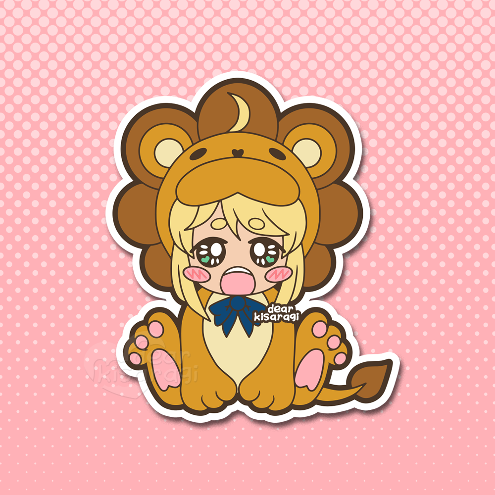 Sticker | Saber Lion