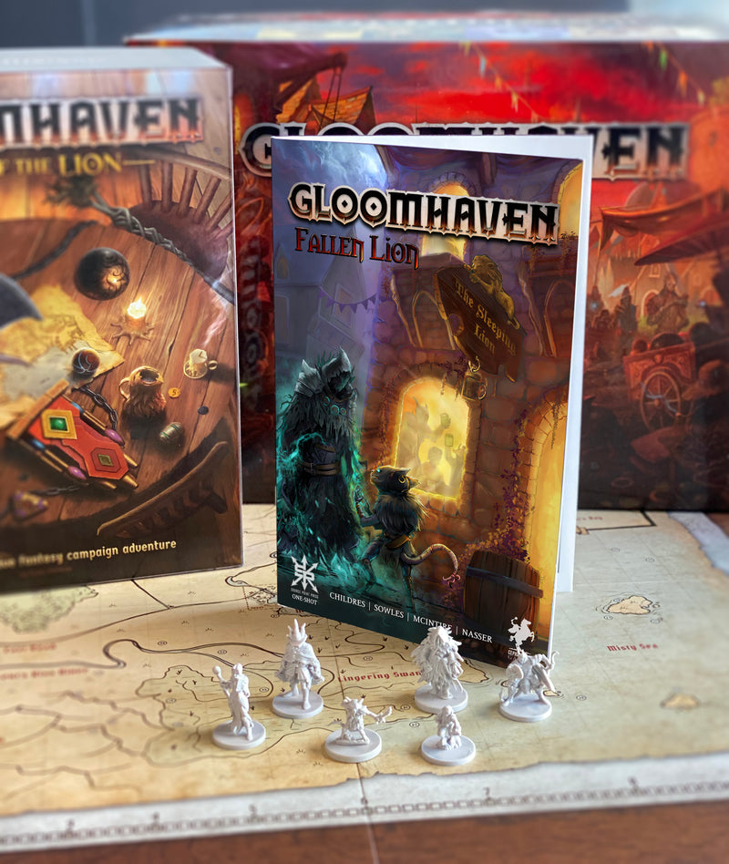 Gloomhaven: Fallen Lion, the official Gloomhaven comic