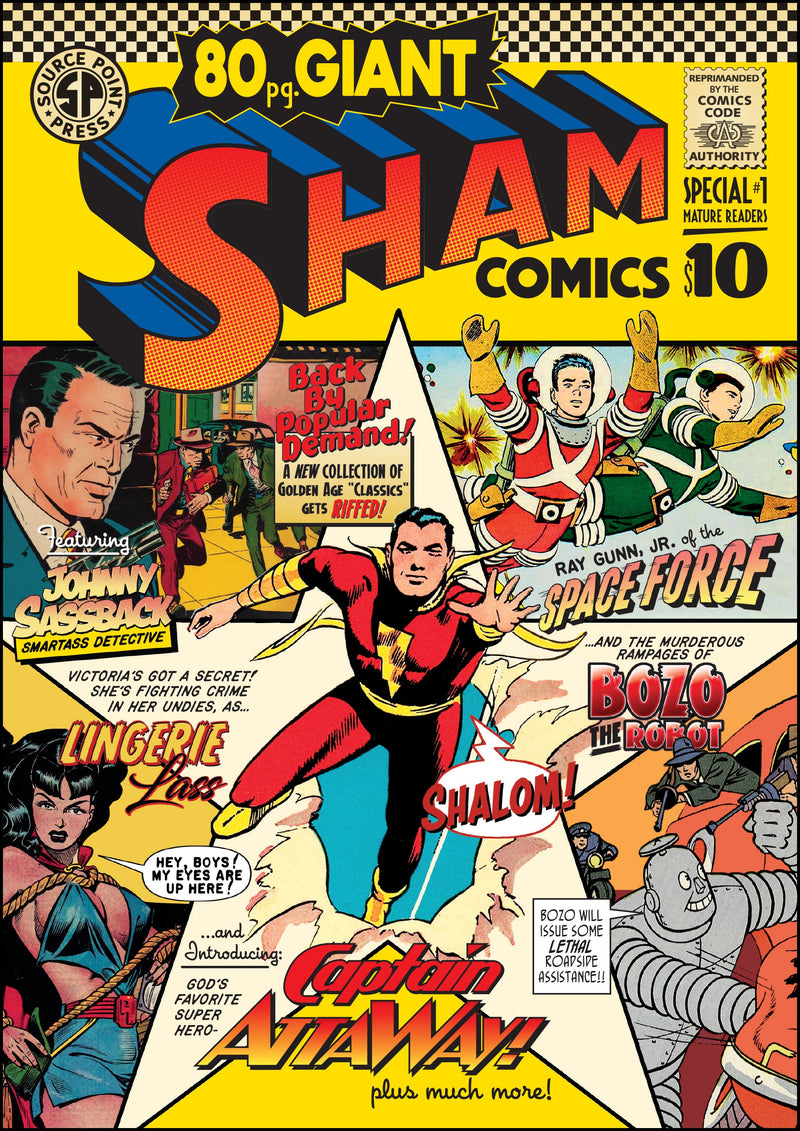The next issue of Sham is an 80 page special!