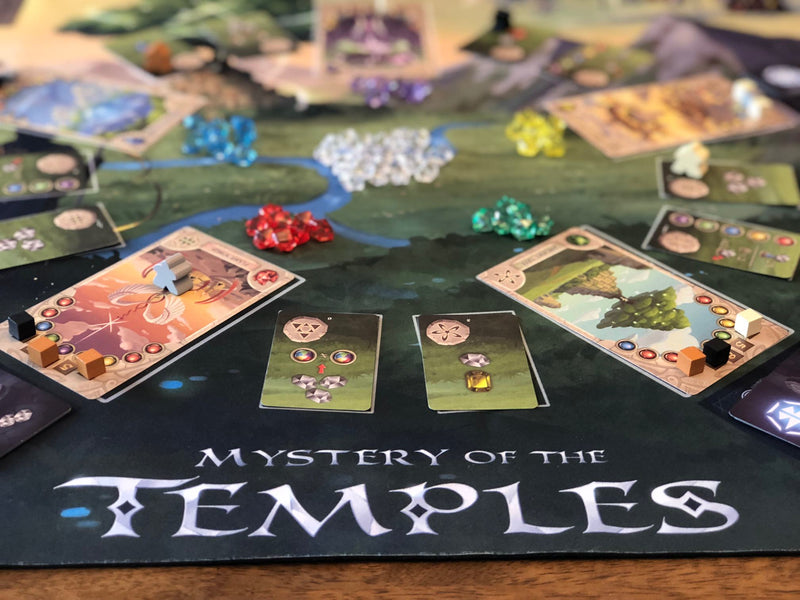 Mystery of the Temples Playmat